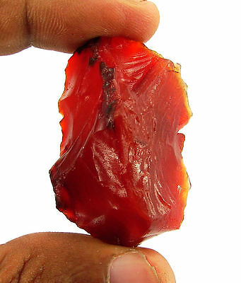 138.00 Ct Natural Orange Carnelian Loose Gemstone Rough Specimen Stone - 6531