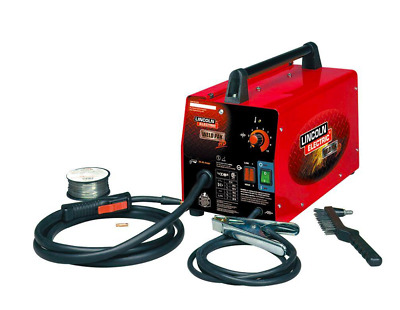 Lincoln New Electric Welder Weld Pack HD Feed Weld Flux Wire Welding Machine DC