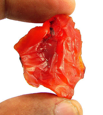138.50 Ct Natural Orange Carnelian Loose Gemstone Rough Specimen Stone - 6545