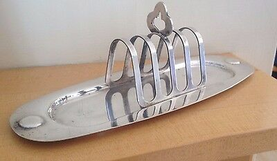 Art Deco Silver Plated Toast Rack