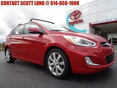 2014 Hyundai Accent 2014 Accent 5 Door Hatchback Automatic SE 2014 Hyundai Accent 5 Door Hatchback Automatic Boston Red 1 Owner 42K Miles