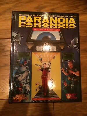 GAMES WORKSHOP - PARANOIA - Second Edition 1987