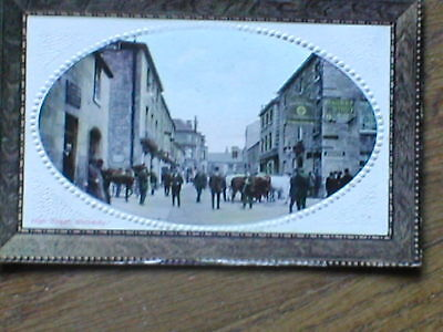 SUPERB Photo PC of High Street Wetherby-- Pratts Spirit, Cattle at Market Pubs