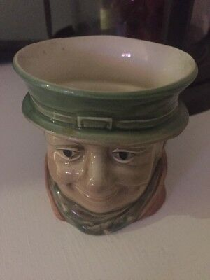 Vintage Beswick Small Character Pot Tony Weller No. 673