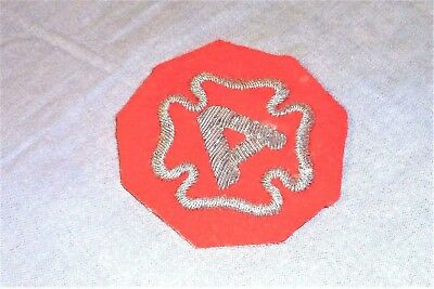 Bullion German Made 9th Army Hand Embroidered patch