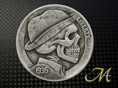 "Hobo Nickel Buffalo ""Button"" by MAD"