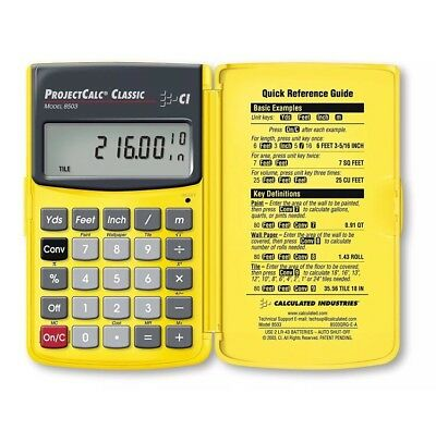 Calculated Industries 8503 ProjectCalc Classic Job Site Calculator
