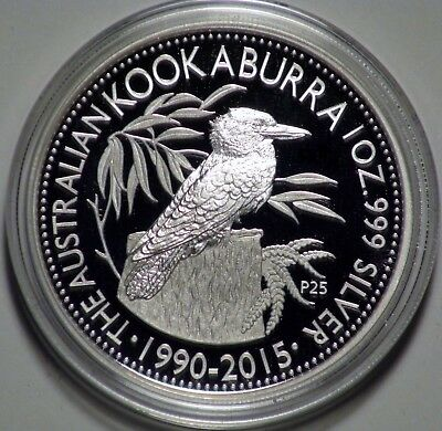2015 Australia 1 oz Silver Proof Kookaburra WMF Berlin LOW MINTAGE OF ONLY 2500!