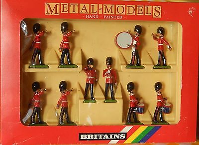 Britains - 10 Scots Guards drum and bugles - art. 7206