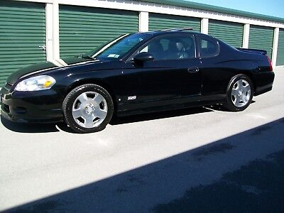 2007 Chevrolet Monte Carlo SS LOADED 2007 Chevrolet Monte Carlo SS leather sliding moonroof window sticker EXC