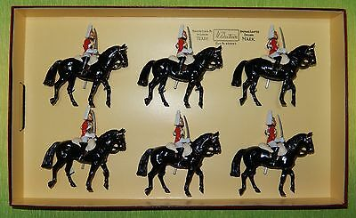 W. Britain 6 Mounted Lifeguards - Box nr. 2848