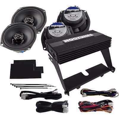 HOGTUNES 4 SPEAKER AMP KIT 2000-2013 Harley Davidson ULTRA CLASSIC & MORE