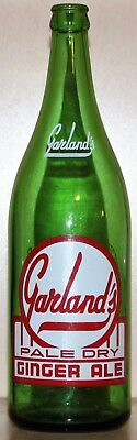 GARLAND'S - 30oz POP/SODA BOTTLE - NORTH BAY, ONTARIO