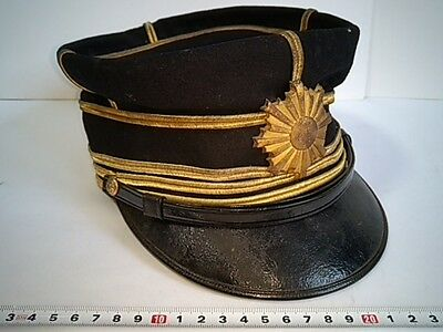 WWII Japanese Military Imperial Soldier's Dress uniform Hat Cap -O-