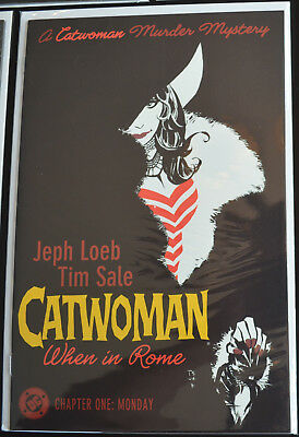 CATWOMAN: WHEN IN ROME #1 (2004 | DC) Jeph Loeb Tim Sale (9.4-9.6) NM+