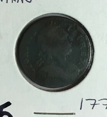 Great Britain 1773 Farthing Coin