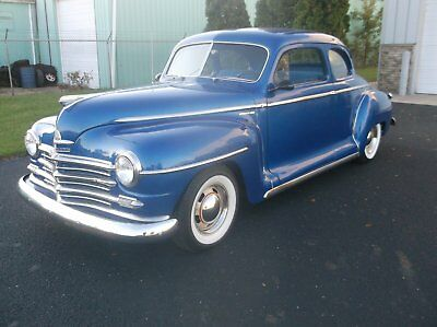 1948 Plymouth Other DEluxe 1948 Plymouth Coupe, 100% Rust Free Oregon Car