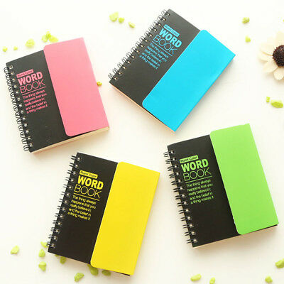 Lovely Recite words learning foreign language vocabulary notebook pocketbook
