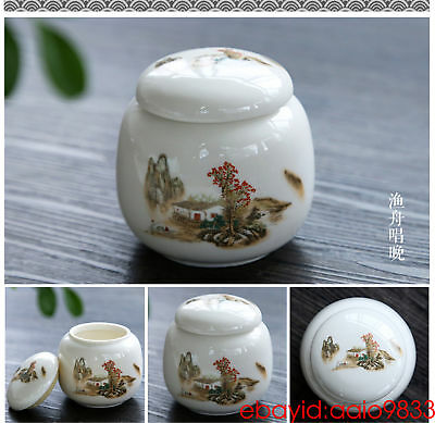 kitchen storage containers mini ceramic tea caddies with lid jars for spices
