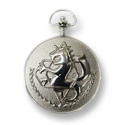 New Fullmetal Alchemist Ed Pocket Watch JAPAN Free Shipping
