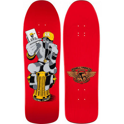 "Powell Peralta Ray Barbee Hydrant Deck Red 9.7"" Reissue Skate Deck Bones Brigade"