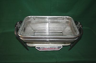 Farberware Electric Open Hearth Rotisserie Grill Replacment Body Stand Drip Pan