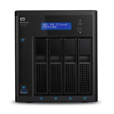 My Cloud PR4100 Pro Series 40TB Media Server with Transcoding, NAS - Network Att