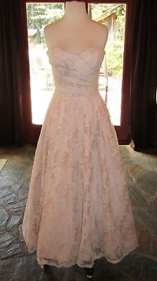SOPHIA & CAMILLA 8829 IVORY BLUSH LACE size 10 Now just $240 was $1200- 80% OFF