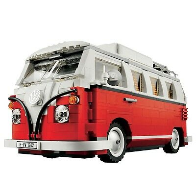 Lego Creator VW T1 Camper Van (10220), Expert Construction Play Set