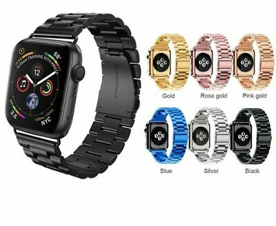 Stainless Steel Wrist Watch Band Strap For Apple Watch Band Series 3/2/1 38/42mm