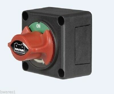 Narva 61082Bl Battery Master Switch, Rotary Switch, Battery Isolator, Cut Off