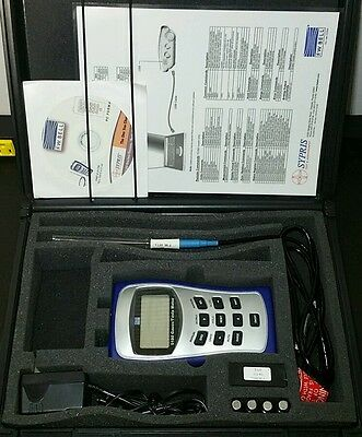 F.W. Bell 5180 Gaussmeter With Probe and Extras. Tesla Magnetometer 30k Gauss.