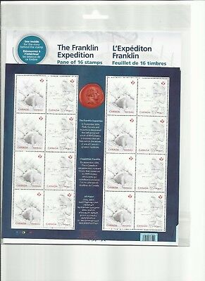 Canada Franklin Expedition Full Pane - Canada Post Sealed Pack