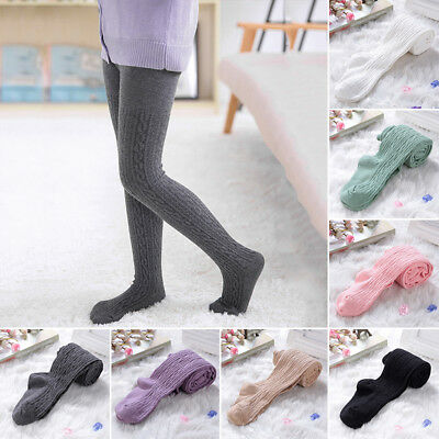 Baby Girls Toddler Kids Cotton Warm Tights Stockings Pantyhose Long Pants Socks