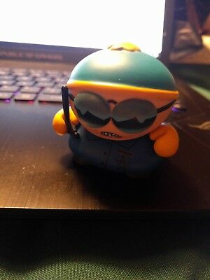 "South Park Kidrobot Many Faces of Cartman Cop 3"" Mini Vinyl Figure"