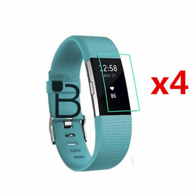 5 PCS Ultra-thin HD Screen Protector Cover Guard Flim For FitBit Charge 2