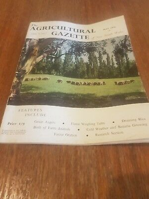 The Agricultural Gazette of NSW - May 1964. Vol 75 Part 4. Rare