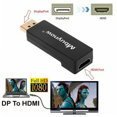 Display Port DP Male To HDMI Female Adapter Converter Adaptor for HDTV PC