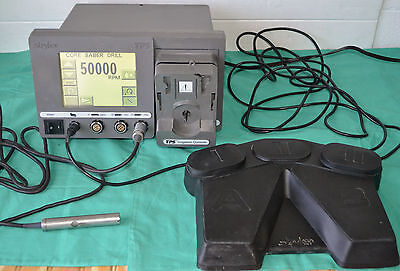 Stryker TPS 5100-50 Console With Stryker Core Sabre Drill Handpiece & Footswitch
