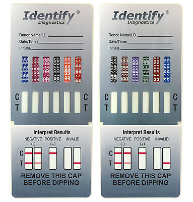 12 Panel Drug Test Dip FDA Approved CLIA Waived  - Identify Diagnostics