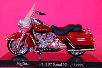 HARLEY DAVIDSON  ROAD KING  1999 1/18th   MODEL  MOTORCYCLE