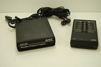 AMX 120 Wireless Slide Projector Control with Remote - For Kodak Carousel