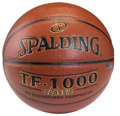 "Spalding TF-1000 Classic Indoor Basketball - Official Size 7 (29.5"")"