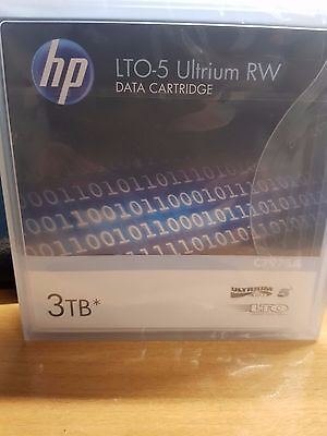2 X HP LTO-5 Ultrium 3TB RW Data Cartridge P/N: C7975A Brand New