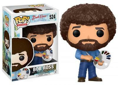 Funko Pop! Television 524 Bob Ross The Joy of Painting Pop Vinyl Figure FU14813