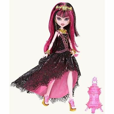 MONSTER HIGH 13 souhaits 13 wishes Draculaura MATTEL