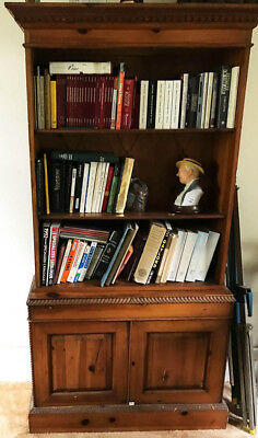 Country Pine Bookcase Lot 2986