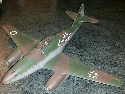 Model German WWII Me262 jet fighter in 1/24th scale? Project kit.