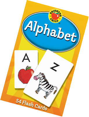 Alphabet Flash Cards Children Learning Game Funny Educational Toddler Toy