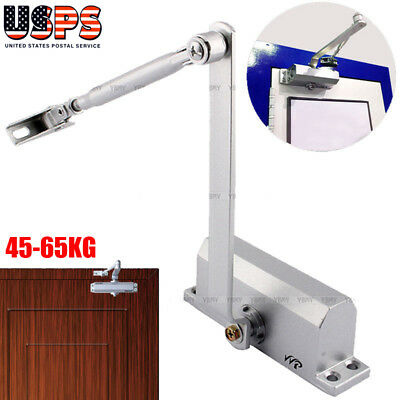 New 45-65kg Automatic Commercial Door Closer Two Independent Valves Control